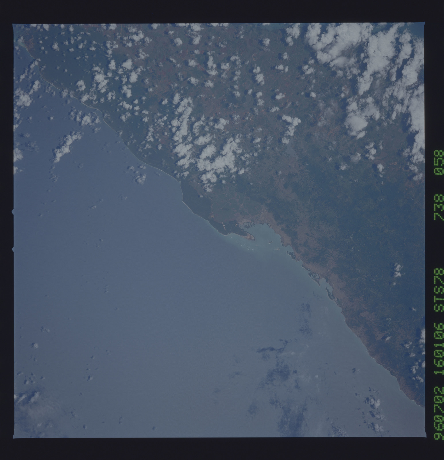 STS078-738-058 - STS-078 - Earth observations taken from Space Shuttle Columbia during STS-78 mission
