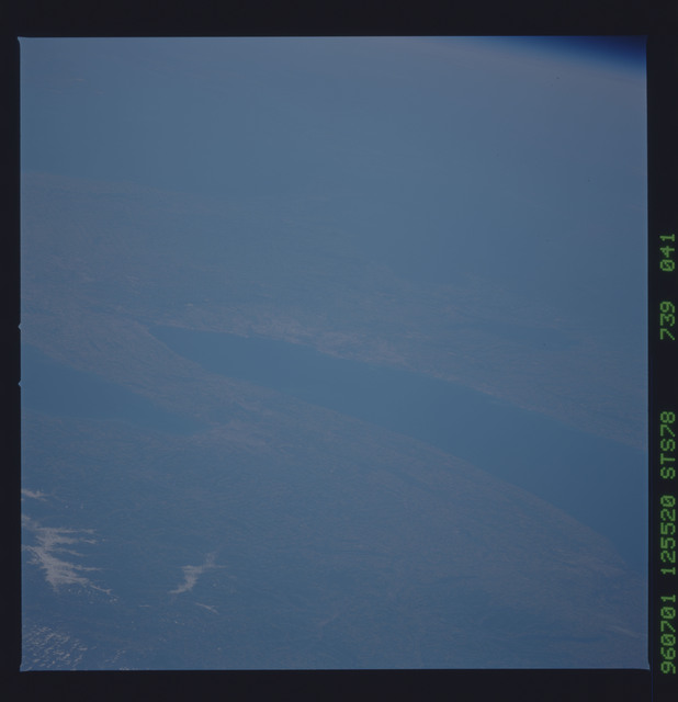STS078-739-041 - STS-078 - Earth observations taken from Space Shuttle Columbia during STS-78 mission