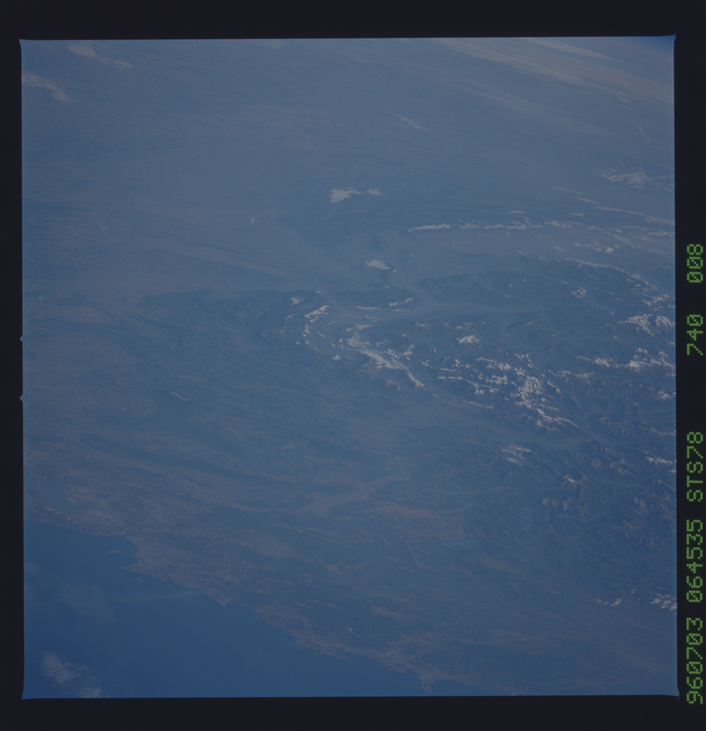 STS078-740-008 - STS-078 - Earth observations taken from Space Shuttle Columbia during STS-78 mission