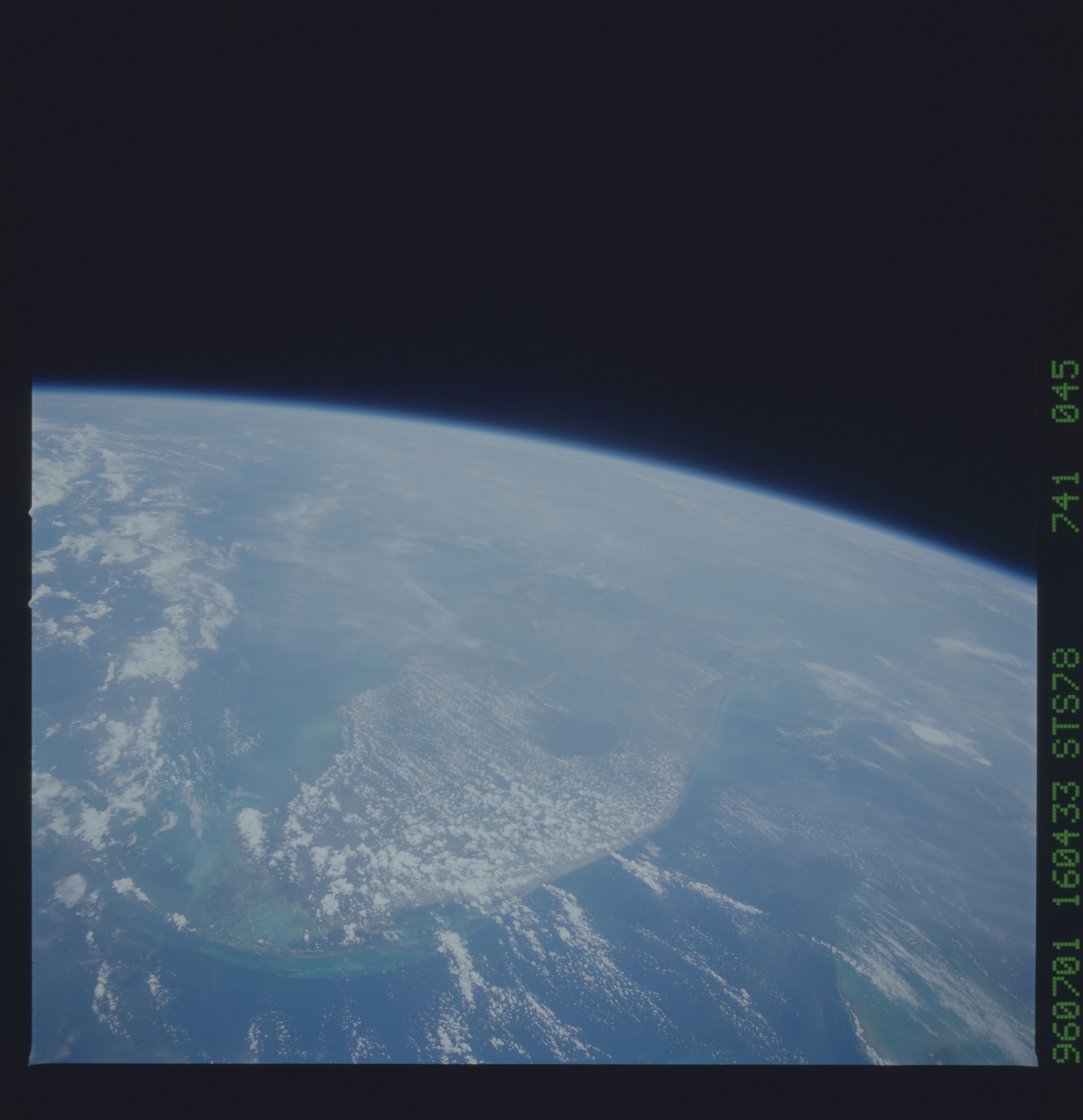 STS078-741-045 - STS-078 - Earth observations taken from Space Shuttle Columbia during STS-78 mission