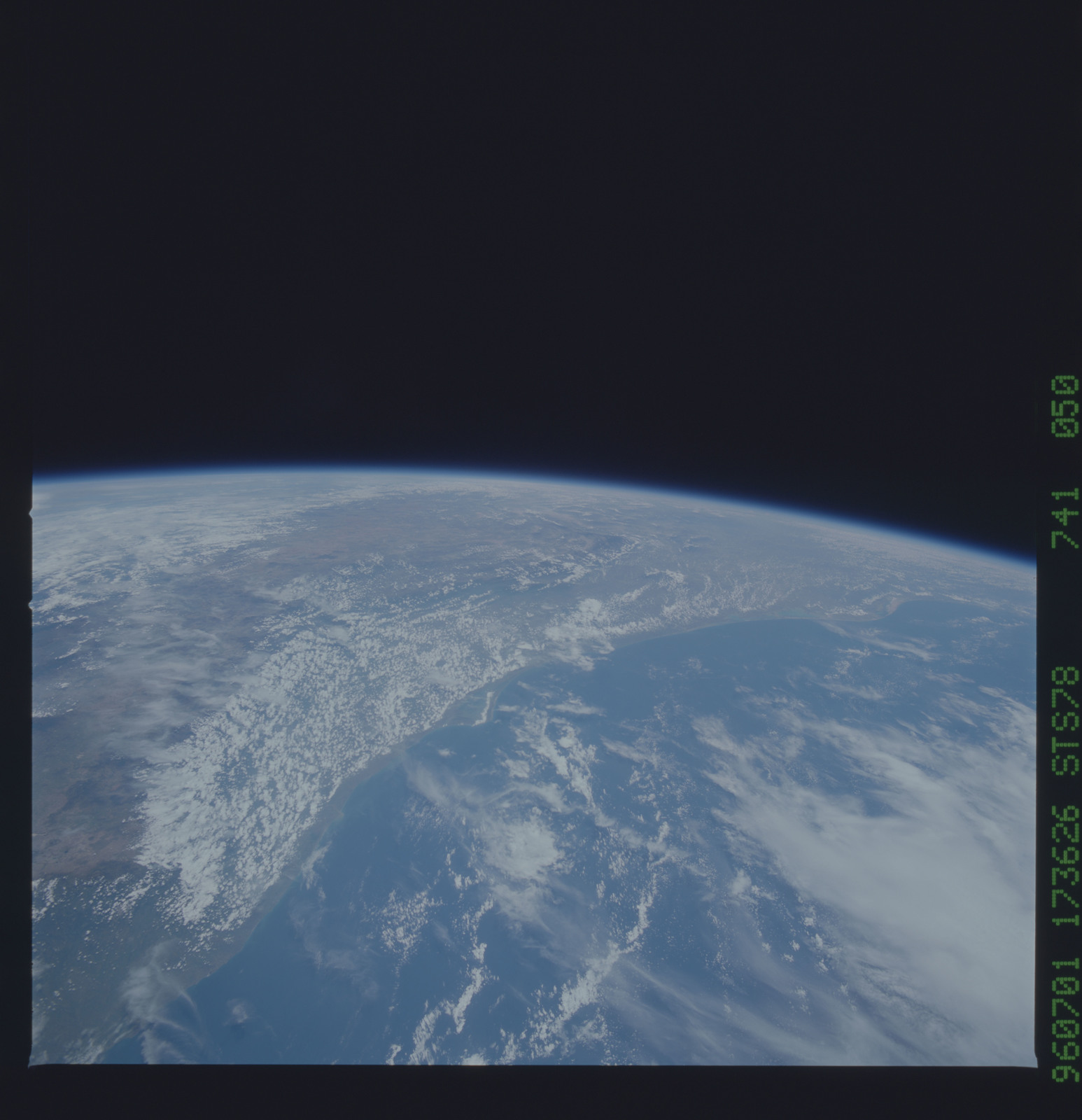 STS078-741-050 - STS-078 - Earth observations taken from Space Shuttle Columbia during STS-78 mission