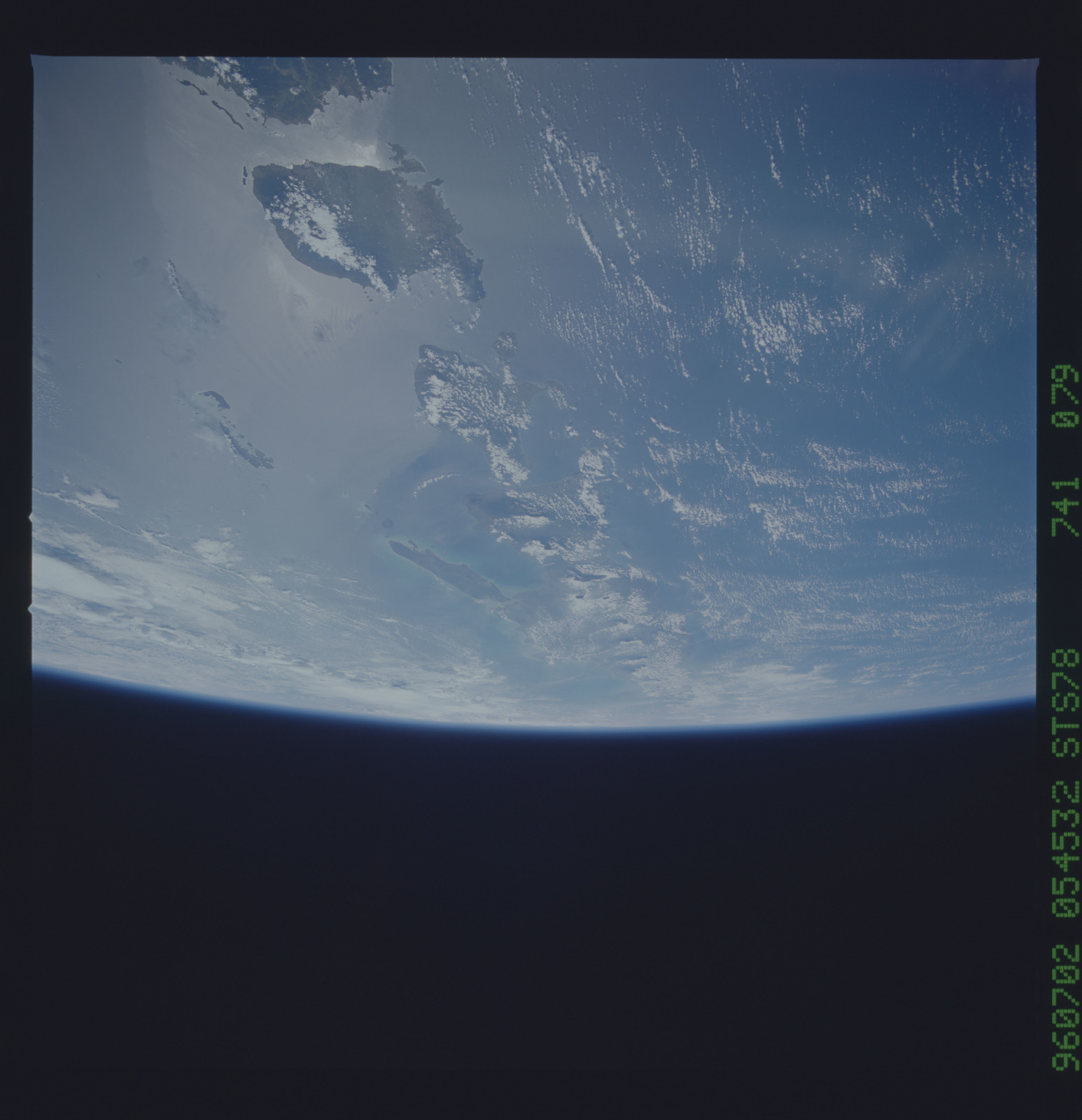 STS078-741-079 - STS-078 - Earth observations taken from Space Shuttle Columbia during STS-78 mission