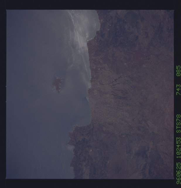 STS078-743-085 - STS-078 - Earth observations taken from Space Shuttle Columbia during STS-78 mission