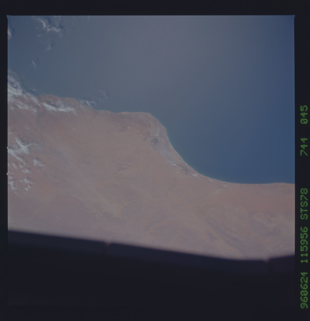 STS078-744-045 - STS-078 - Earth observations taken from Space Shuttle Columbia during STS-78 mission