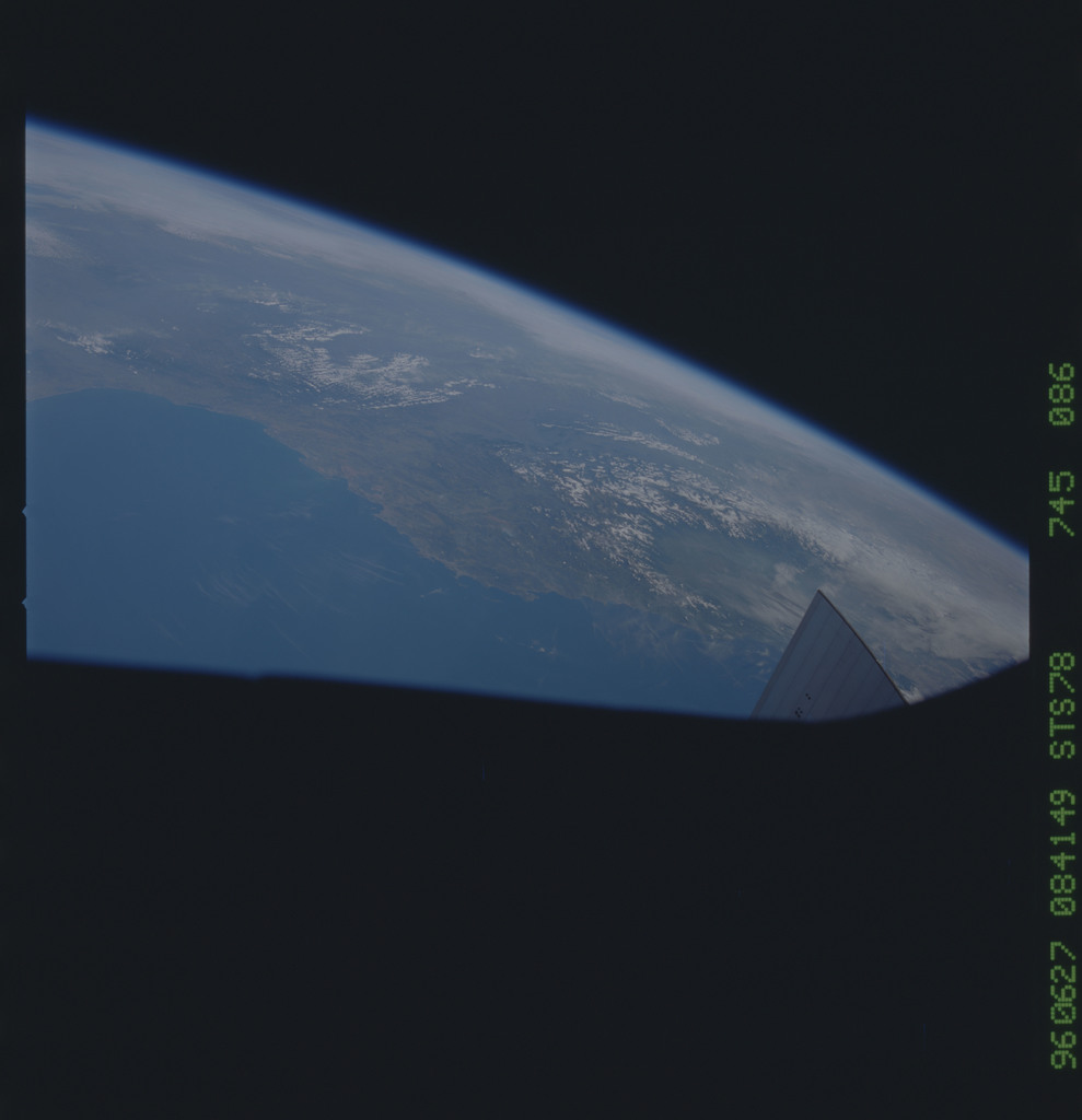 STS078-745-086 - STS-078 - Earth observations taken from Space Shuttle Columbia during STS-78 mission