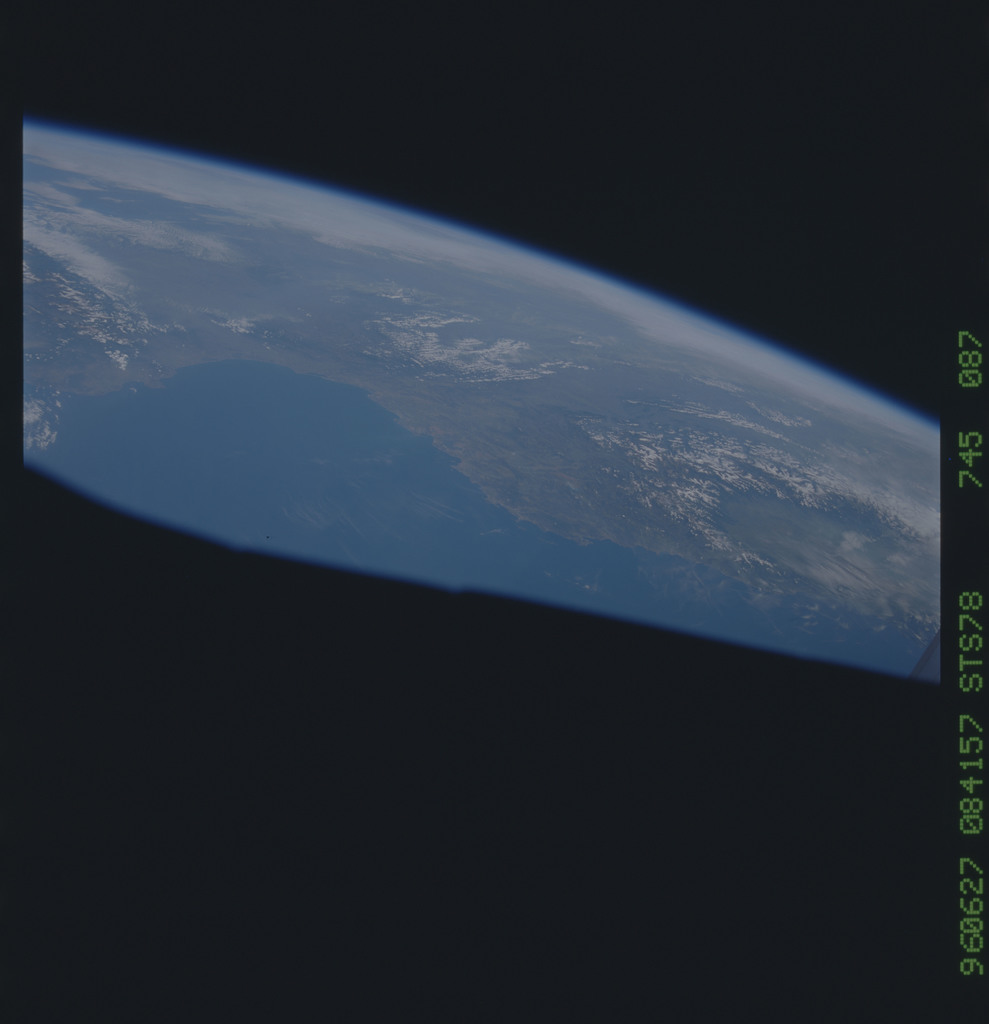STS078-745-087 - STS-078 - Earth observations taken from Space Shuttle Columbia during STS-78 mission