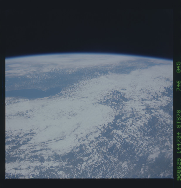STS078-746-045 - STS-078 - Earth observations taken from Space Shuttle Columbia during STS-78 mission