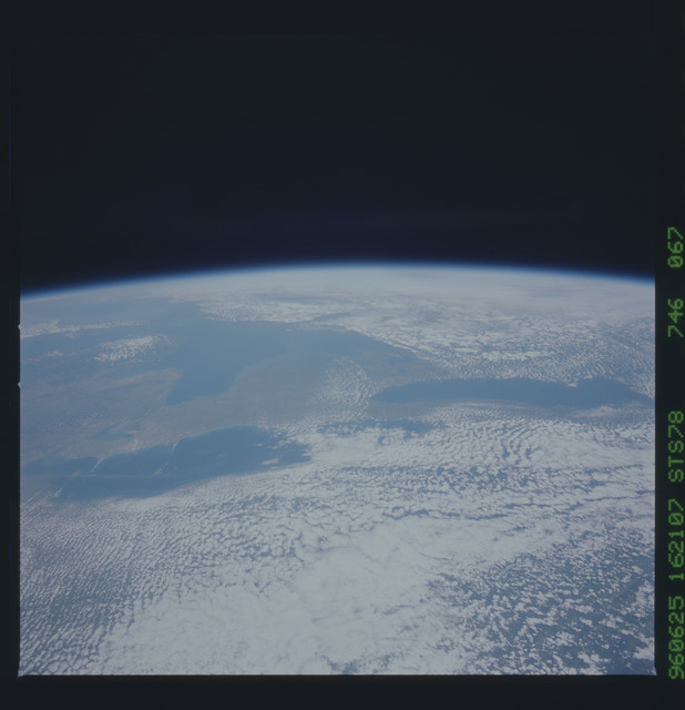 STS078-746-067 - STS-078 - Earth observations taken from Space Shuttle Columbia during STS-78 mission