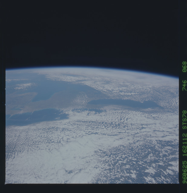 STS078-746-068 - STS-078 - Earth observations taken from Space Shuttle Columbia during STS-78 mission