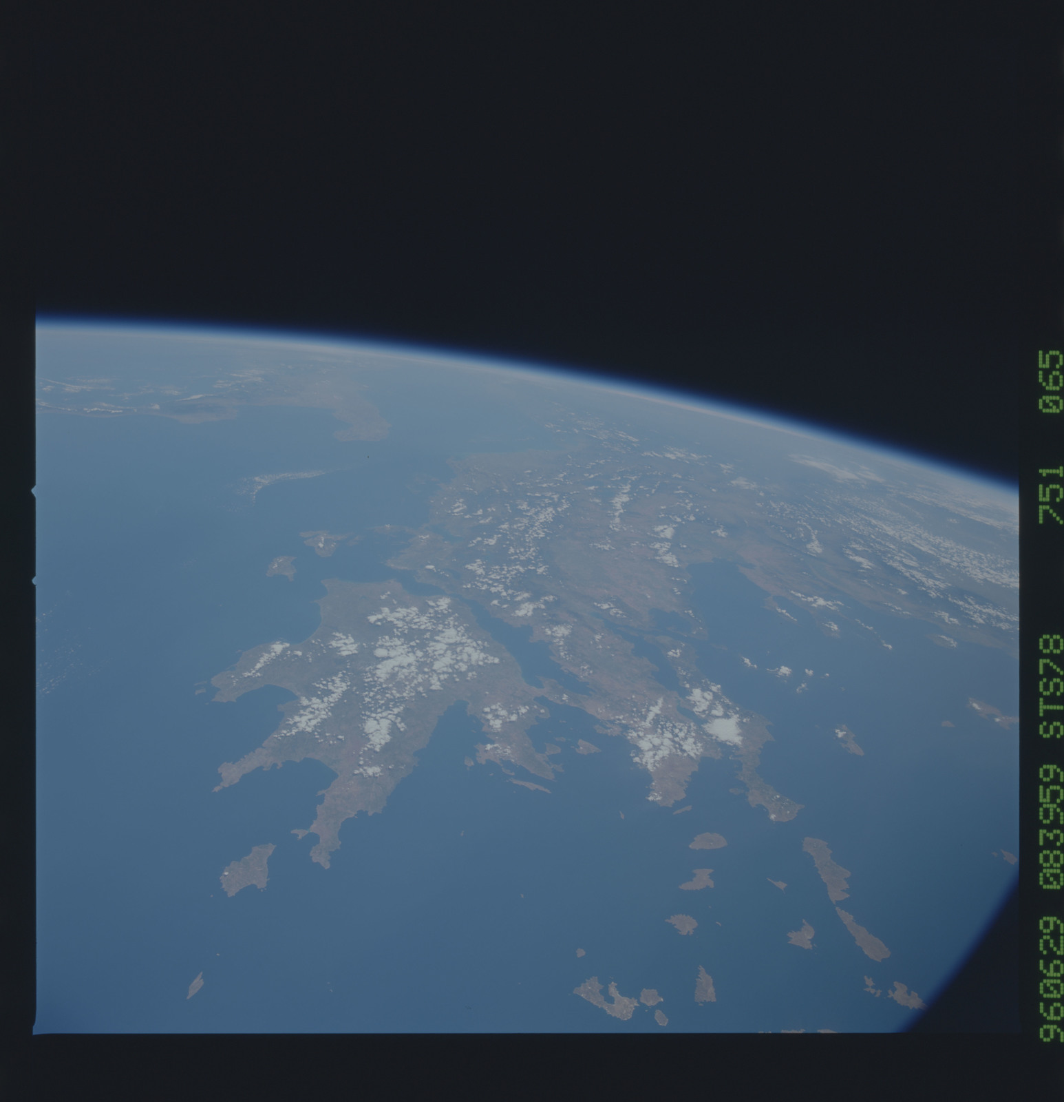 STS078-751-065 - STS-078 - Earth observations taken from Space Shuttle Columbia during STS-78 mission