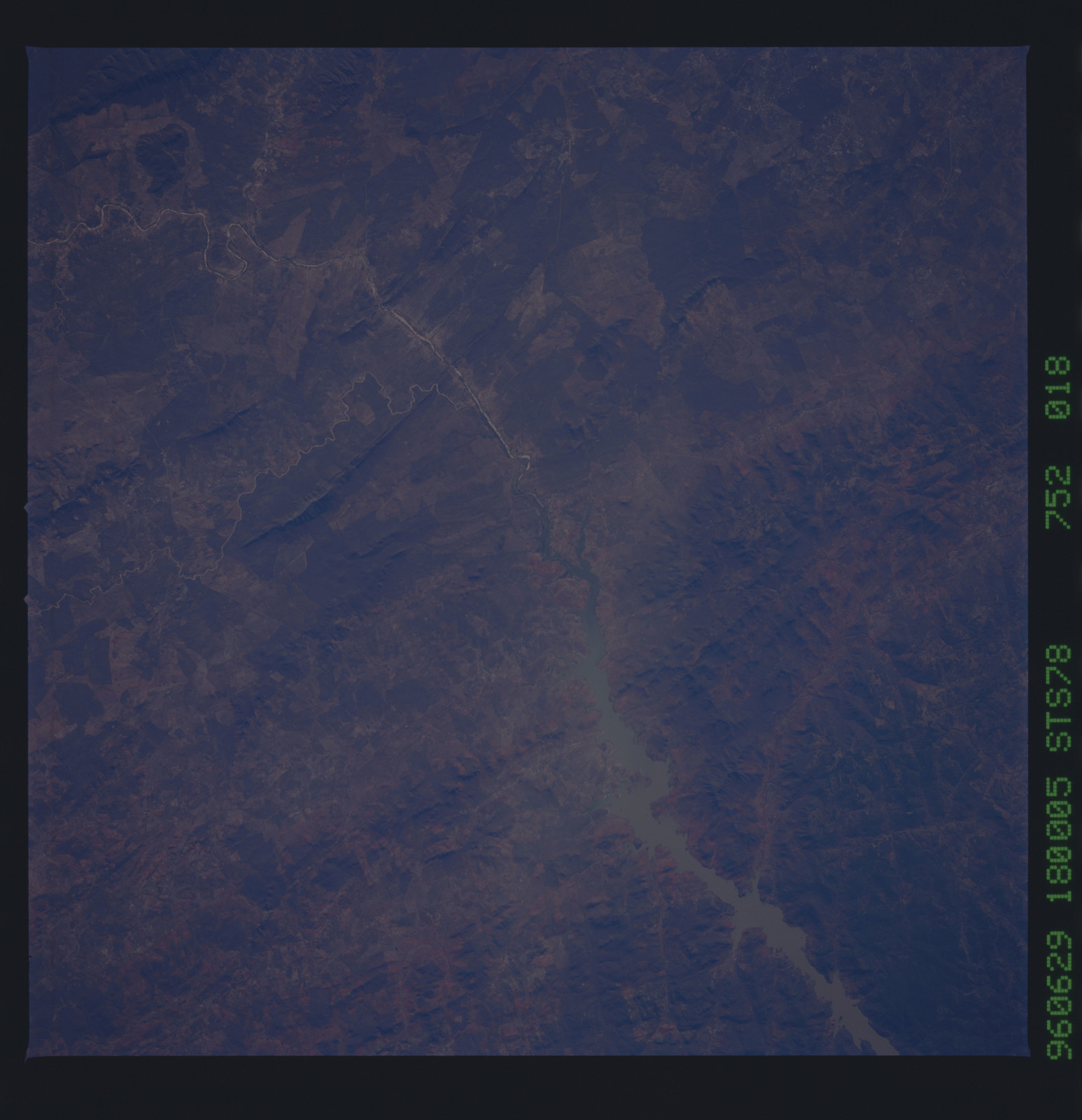 STS078-752-018 - STS-078 - Earth observations taken from Space Shuttle Columbia during STS-78 mission