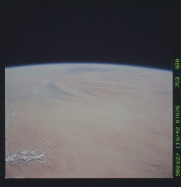 STS078-753-030 - STS-078 - Earth observations taken from Space Shuttle Columbia during STS-78 mission