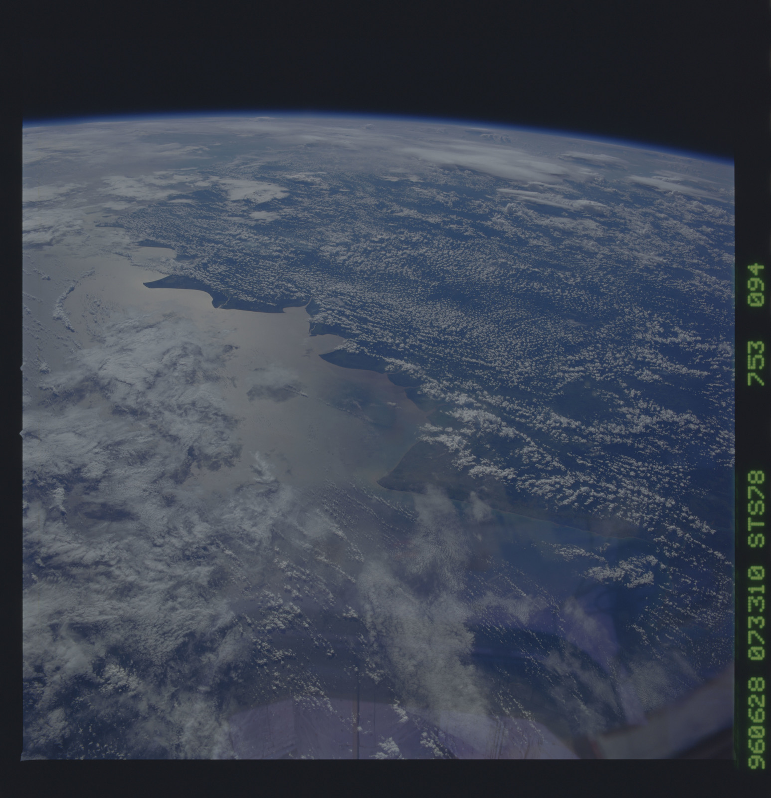 STS078-753-094 - STS-078 - Earth observations taken from Space Shuttle Columbia during STS-78 mission