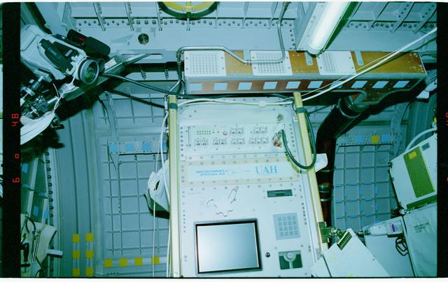 STS079-301-007 - STS-079 - ETTF - Extreme Temperature Translation Furnace