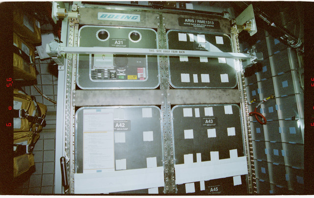 STS079-365-035 - STS-079 - RME 1313 - Active Rack Isolation System (ARIS)