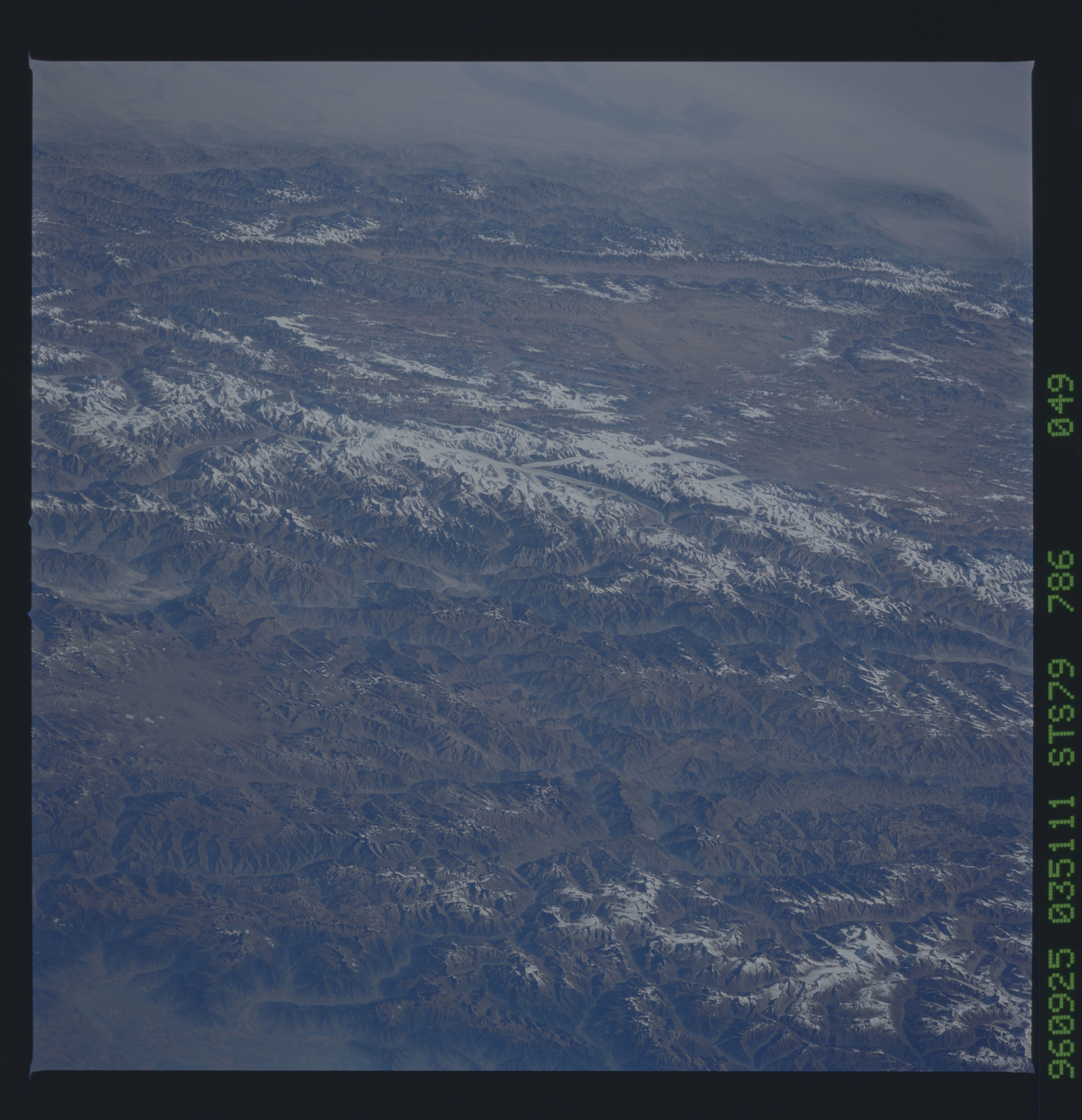 STS079-786-049 - STS-079 - Earth observations taken during STS-79 mission