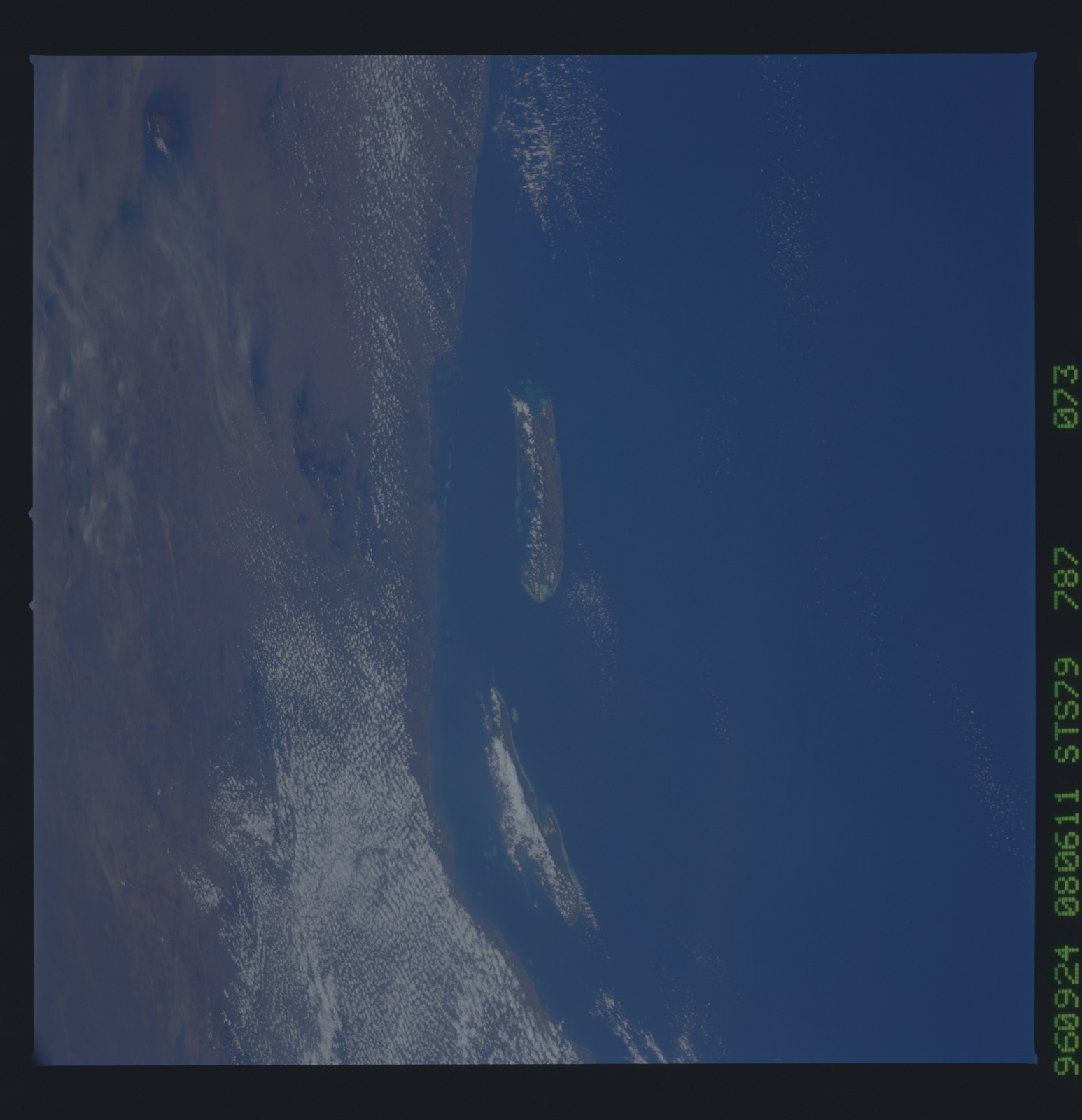 STS079-787-073 - STS-079 - Earth observations taken during STS-79 mission
