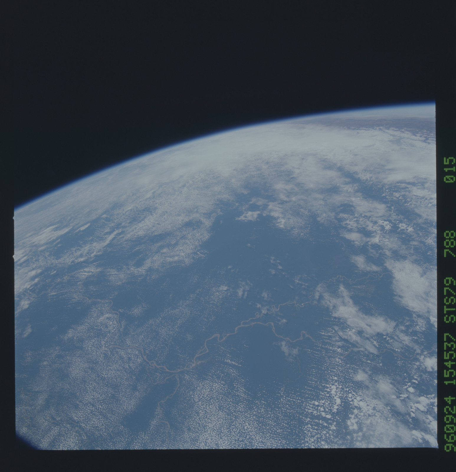 STS079-788-015 - STS-079 - Earth observations taken during STS-79 mission