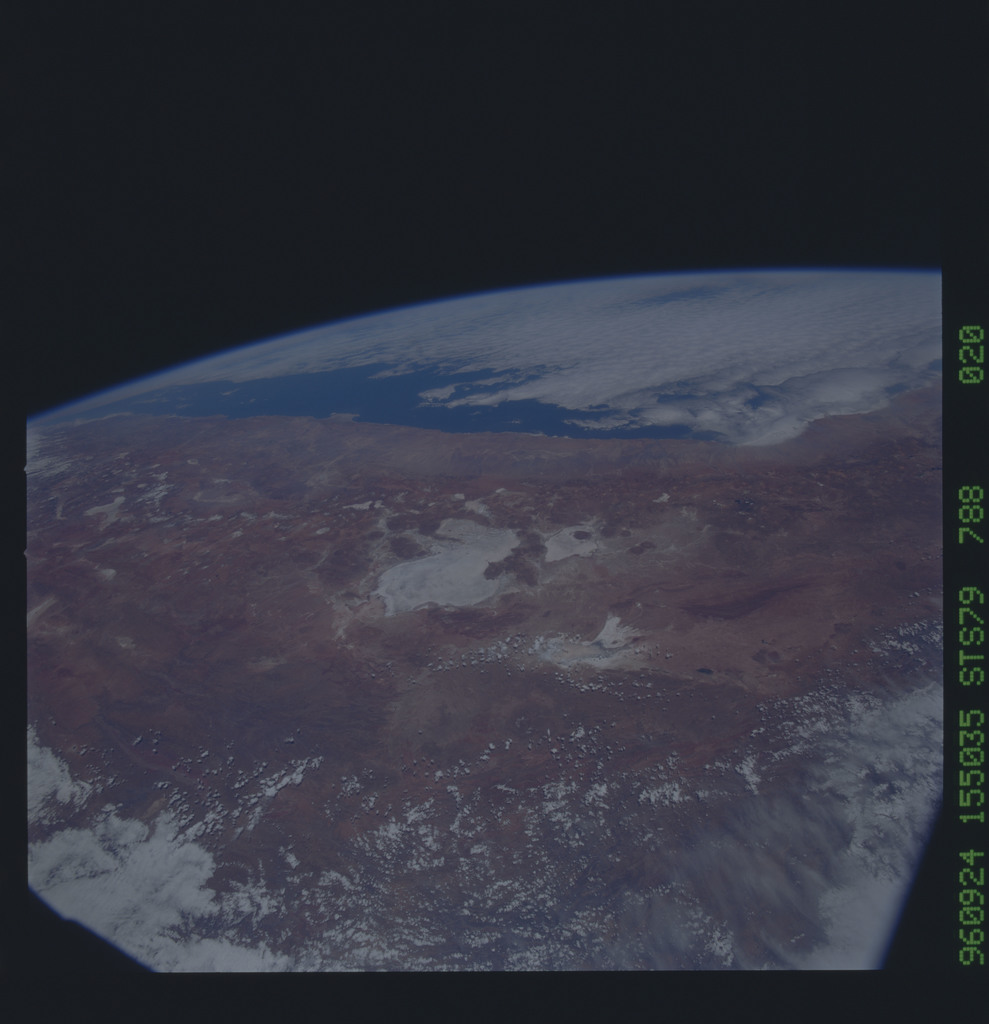 STS079-788-020 - STS-079 - Earth observations taken during STS-79 mission
