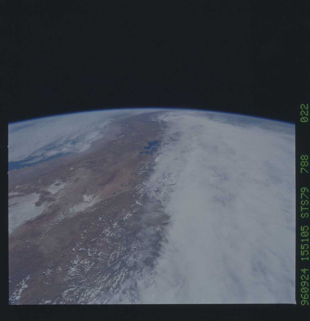STS079-788-022 - STS-079 - Earth observations taken during STS-79 mission