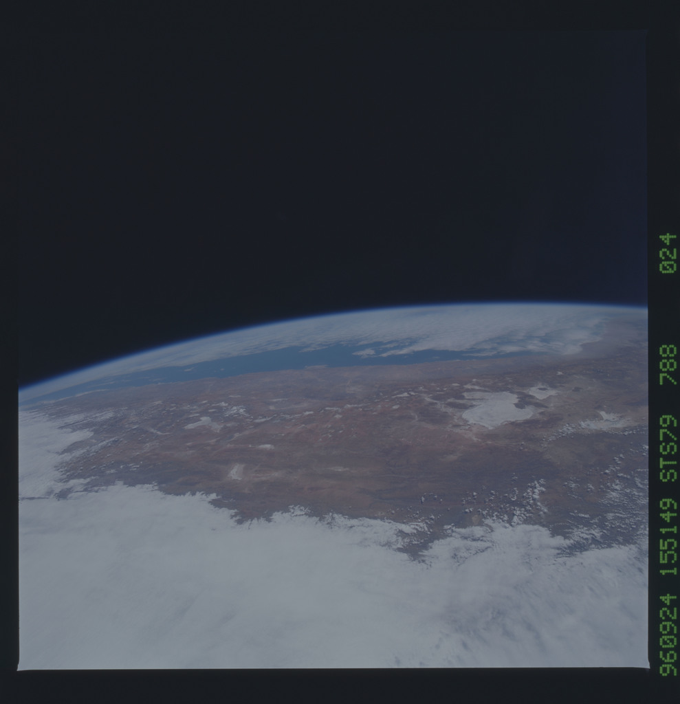 STS079-788-024 - STS-079 - Earth observations taken during STS-79 mission