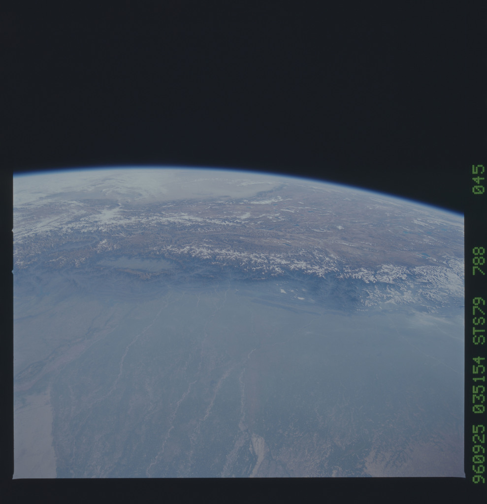 STS079-788-045 - STS-079 - Earth observations taken during STS-79 mission