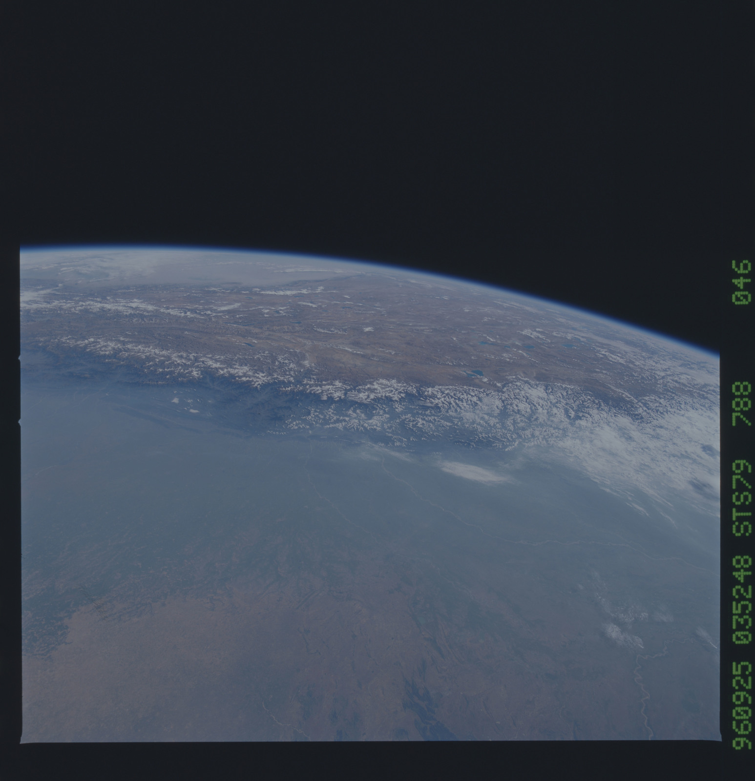 STS079-788-046 - STS-079 - Earth observations taken during STS-79 mission