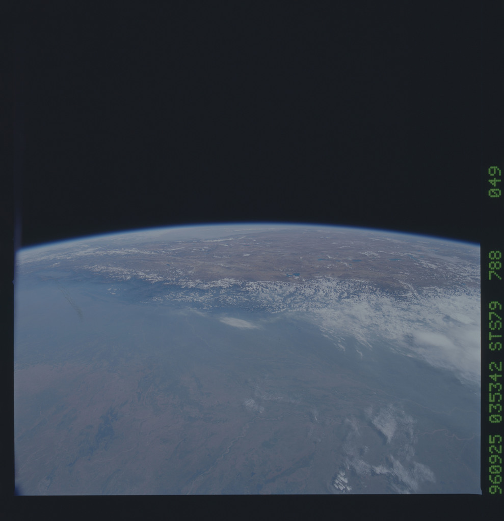 STS079-788-049 - STS-079 - Earth observations taken during STS-79 mission