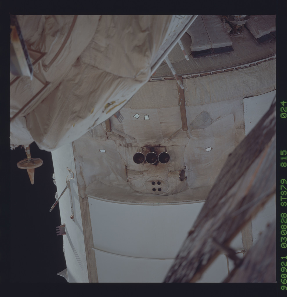 STS079-815-024 - STS-079 - Survey views of the Mir space station