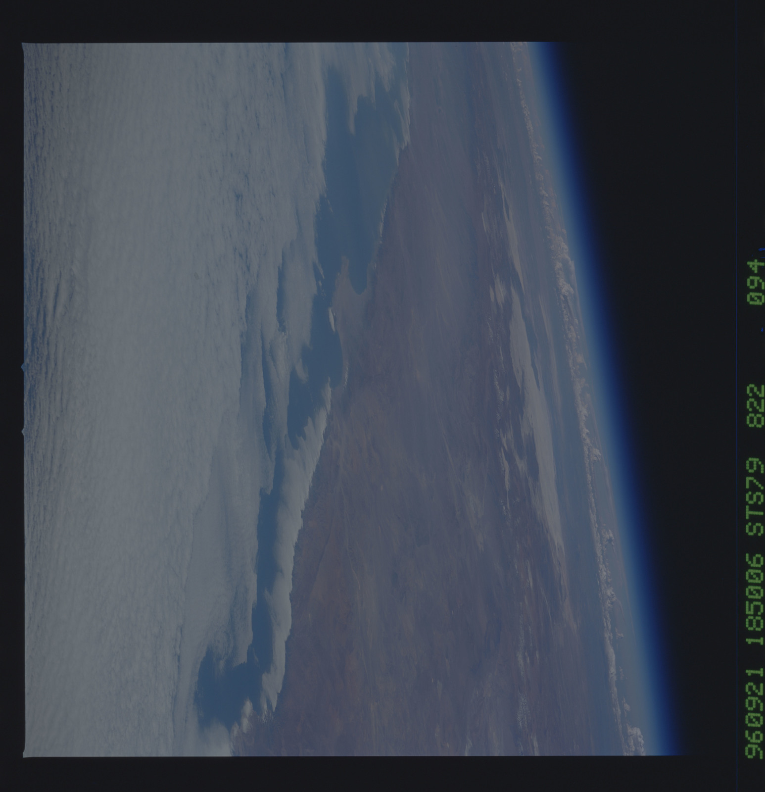 STS079-822-094 - STS-079 - Earth observations taken during STS-79 mission