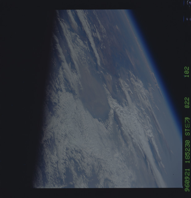 STS079-822-102 - STS-079 - Earth observations taken during STS-79 mission