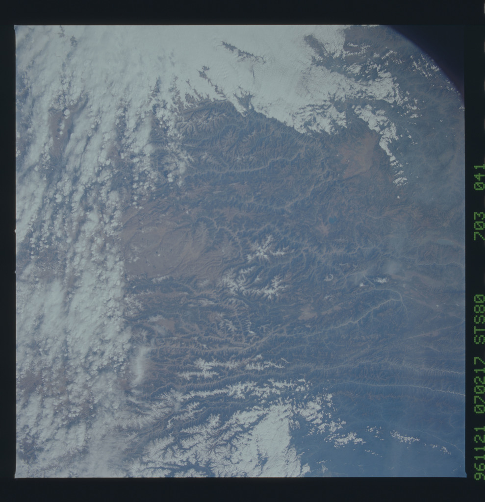 STS080-703-041 - STS-080 - Earth observations taken from Space Shuttle Columbia during STS-80 mission