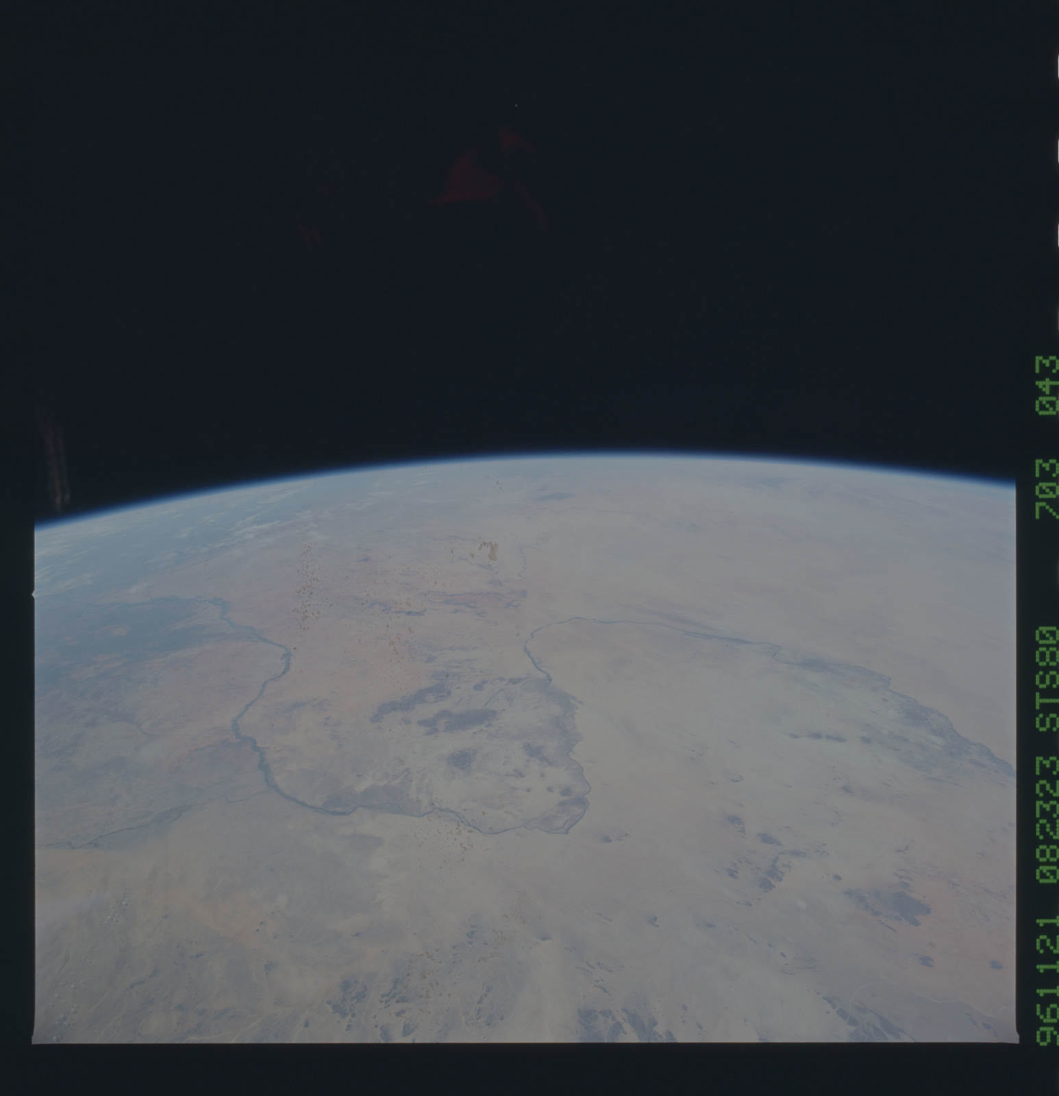 STS080-703-043 - STS-080 - Earth observations taken from Space Shuttle Columbia during STS-80 mission