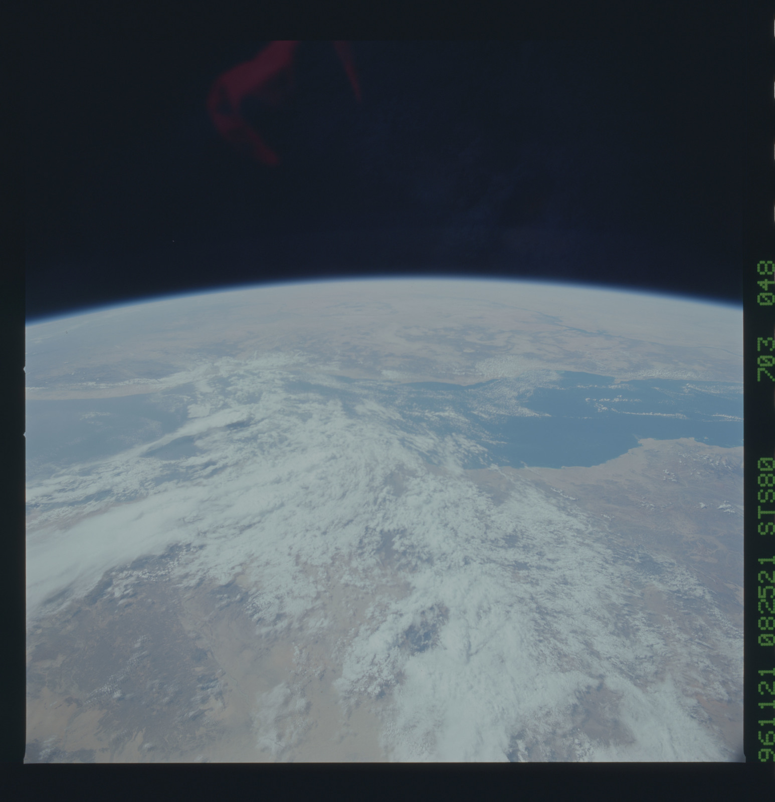 STS080-703-048 - STS-080 - Earth observations taken from Space Shuttle Columbia during STS-80 mission