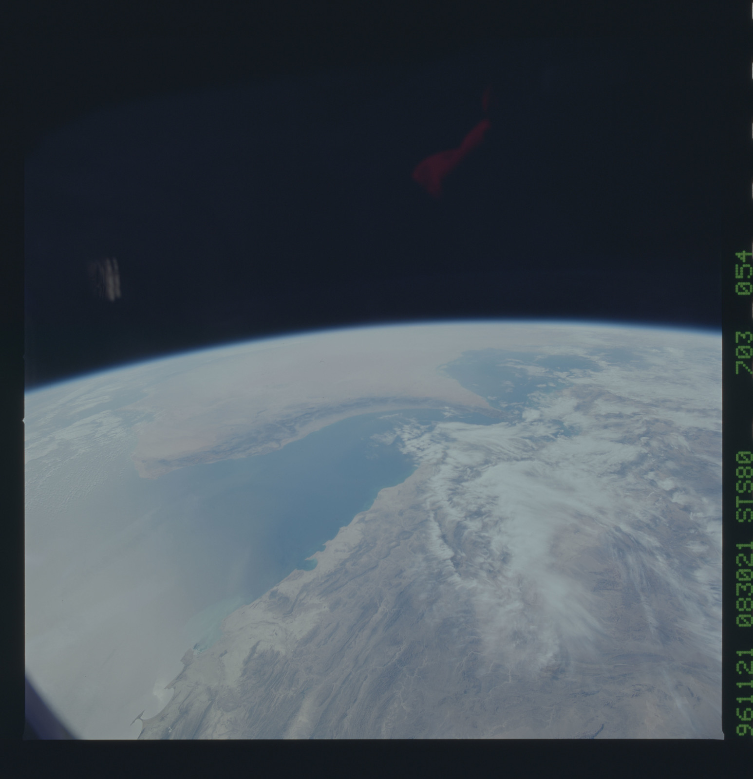 STS080-703-054 - STS-080 - Earth observations taken from Space Shuttle Columbia during STS-80 mission