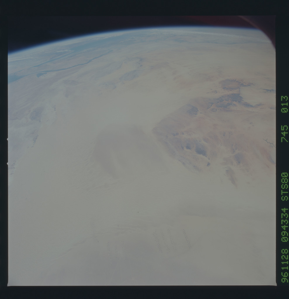 STS080-745-013 - STS-080 - Earth observations taken from Space Shuttle Columbia during STS-80 mission
