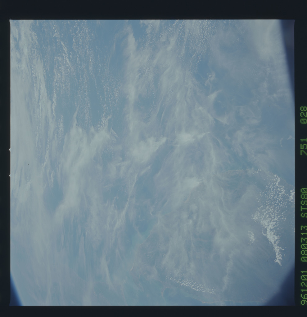 STS080-751-028 - STS-080 - Earth observations taken from Space Shuttle Columbia during STS-80 mission