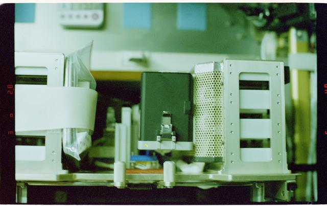 STS084-326-002 - STS-084 - Biorack incubator