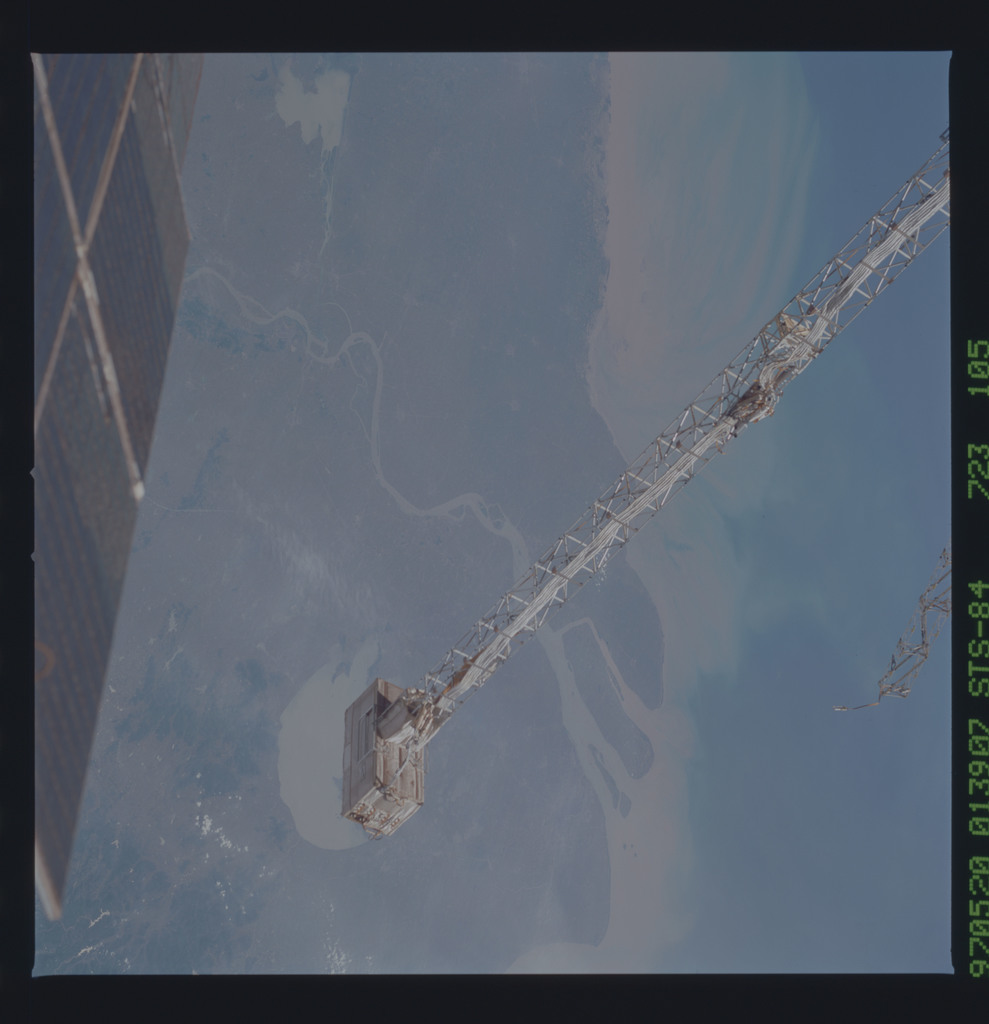 STS084-723-105 - STS-084 - Earth observations taken from shuttle orbiter Atlantis during STS-84 mission