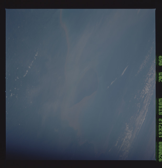 STS085-705-069 - STS-085 - Earth observations taken from orbiter Discovery during STS-85 mission