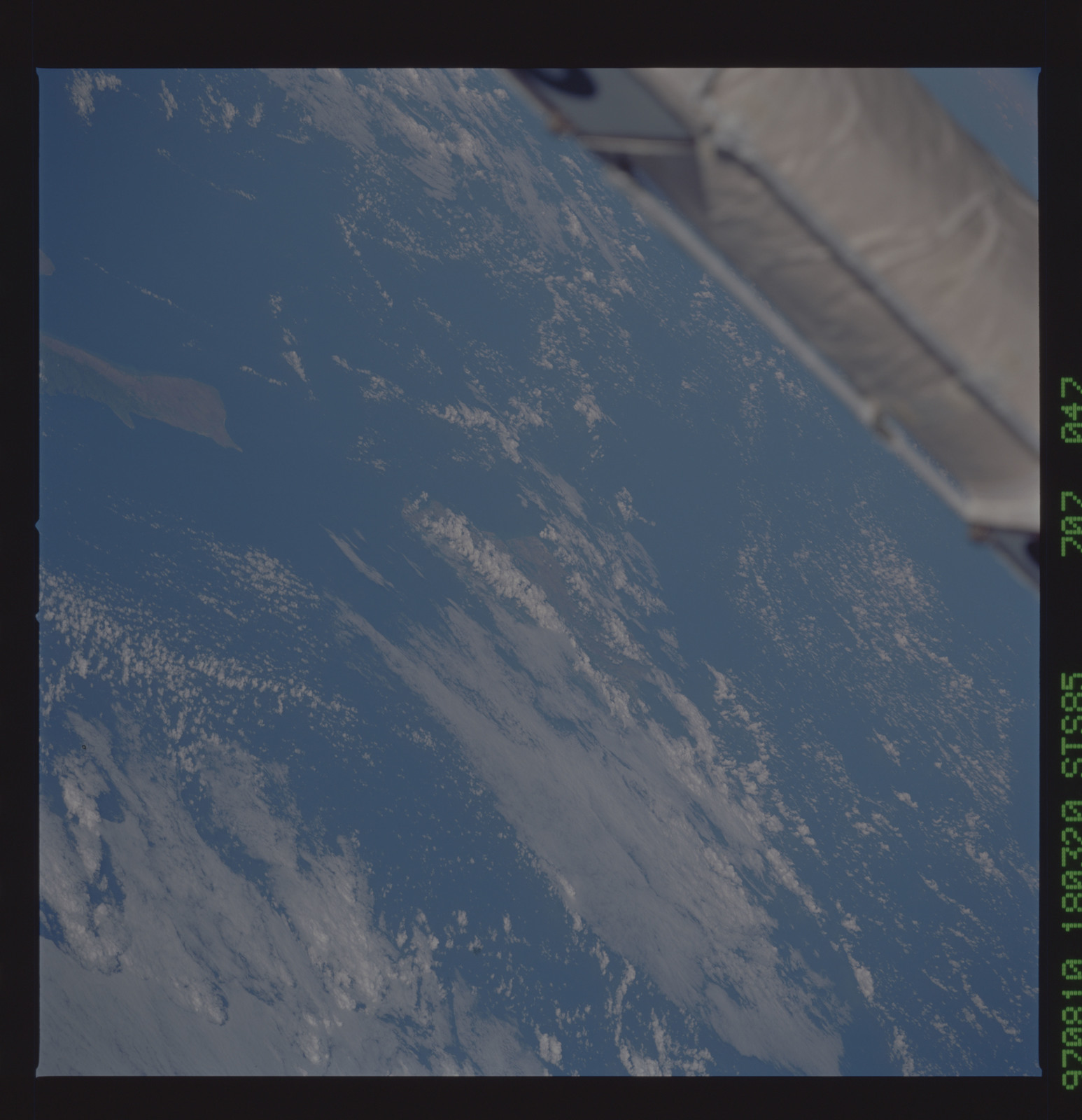 STS085-707-047 - STS-085 - Earth observations taken from orbiter Discovery during STS-85 mission