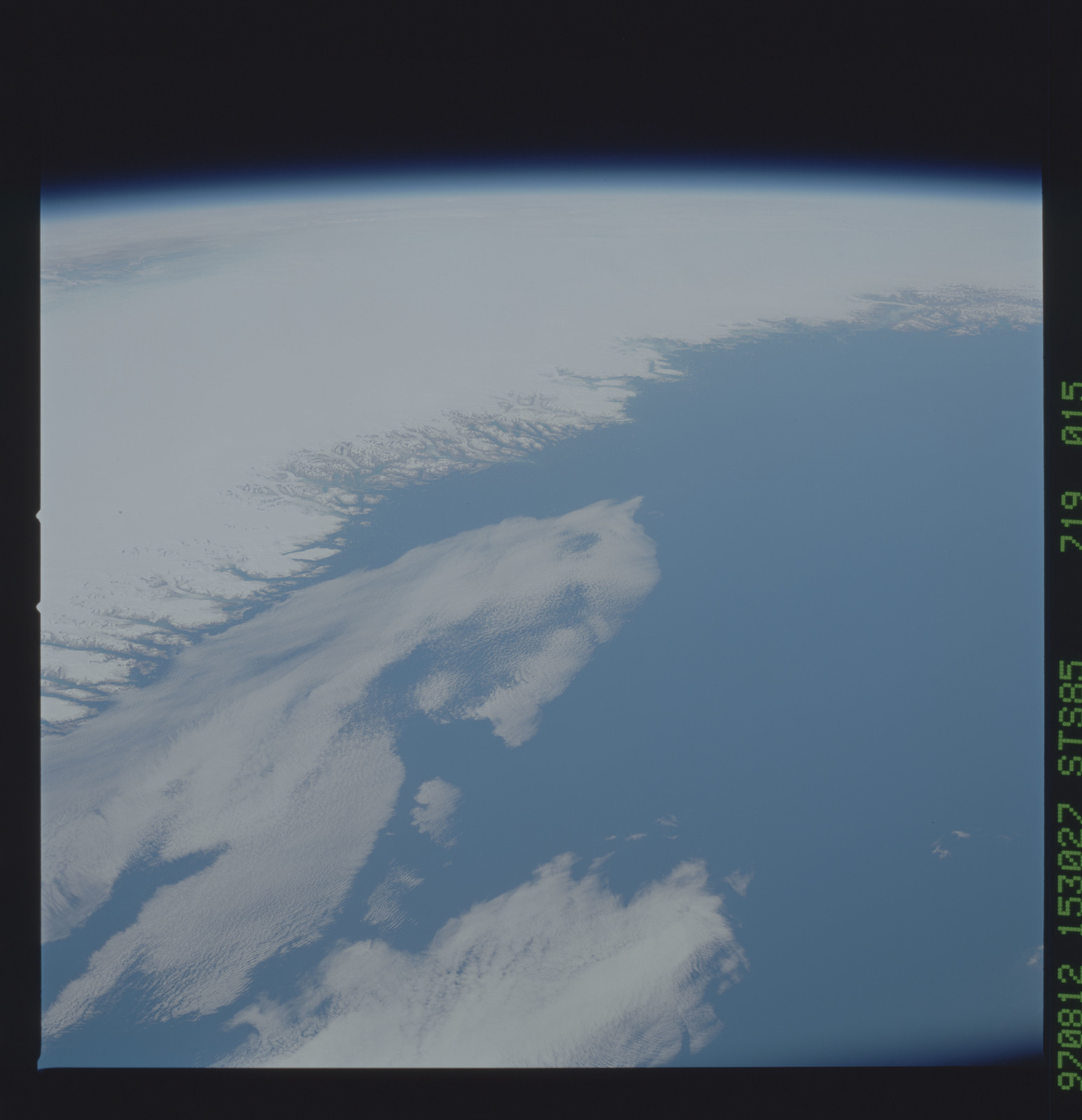 STS085-719-015 - STS-085 - Earth observations taken from orbiter Discovery during STS-85 mission
