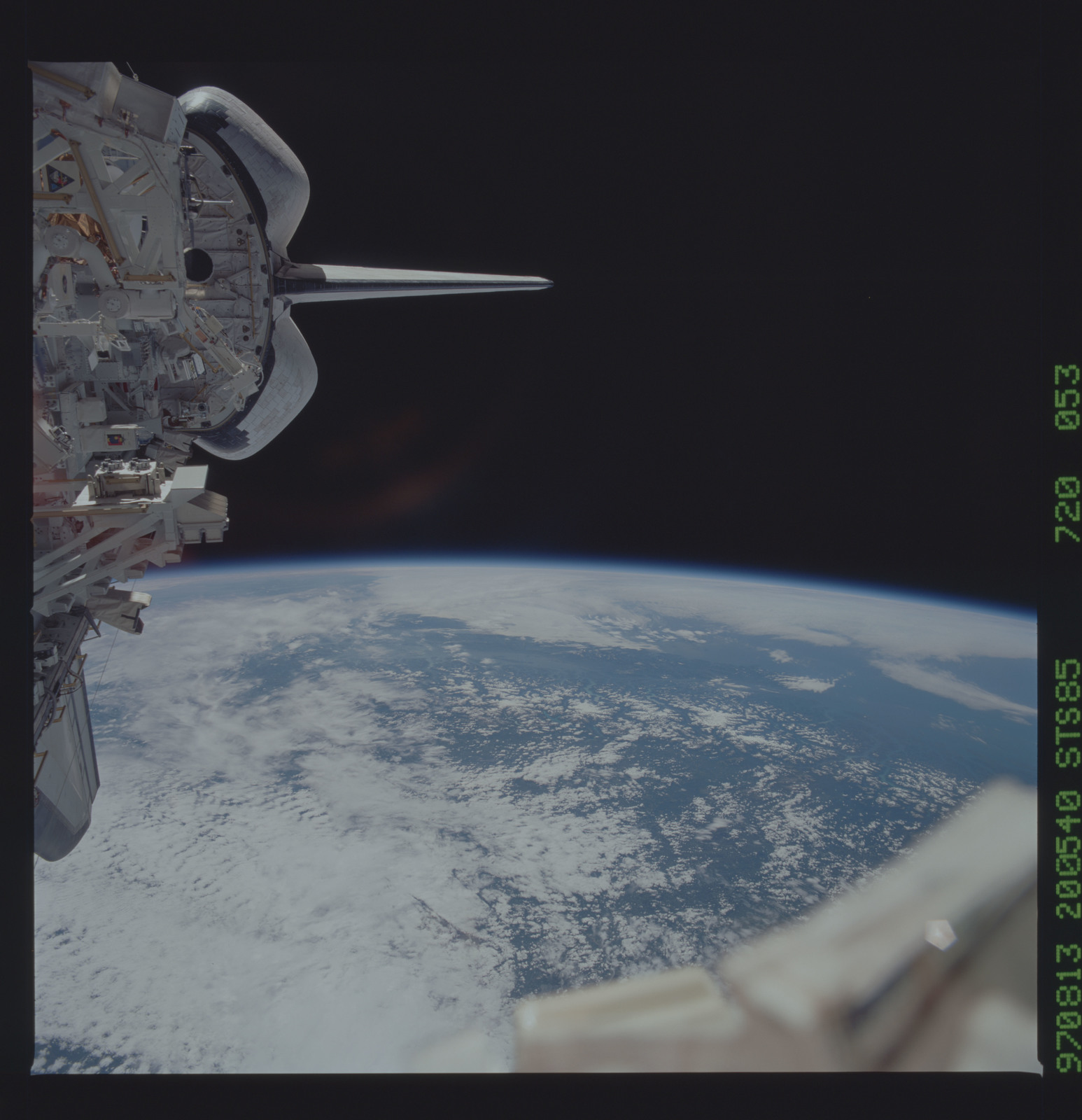 STS085-720-053 - STS-085 - Earth observations taken from orbiter Discovery during STS-85 mission