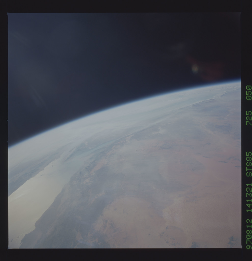 STS085-725-050 - STS-085 - Earth observations taken from orbiter Discovery during STS-85 mission