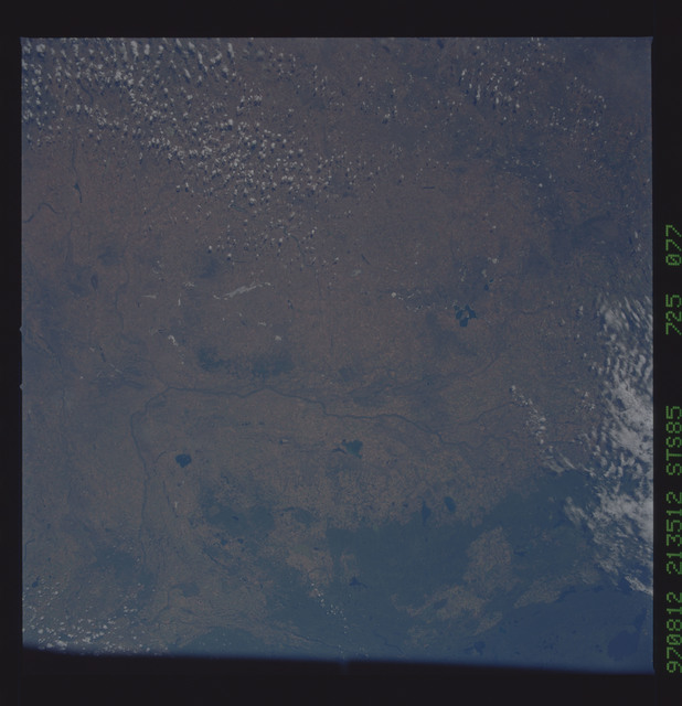 STS085-725-077 - STS-085 - Earth observations taken from orbiter Discovery during STS-85 mission