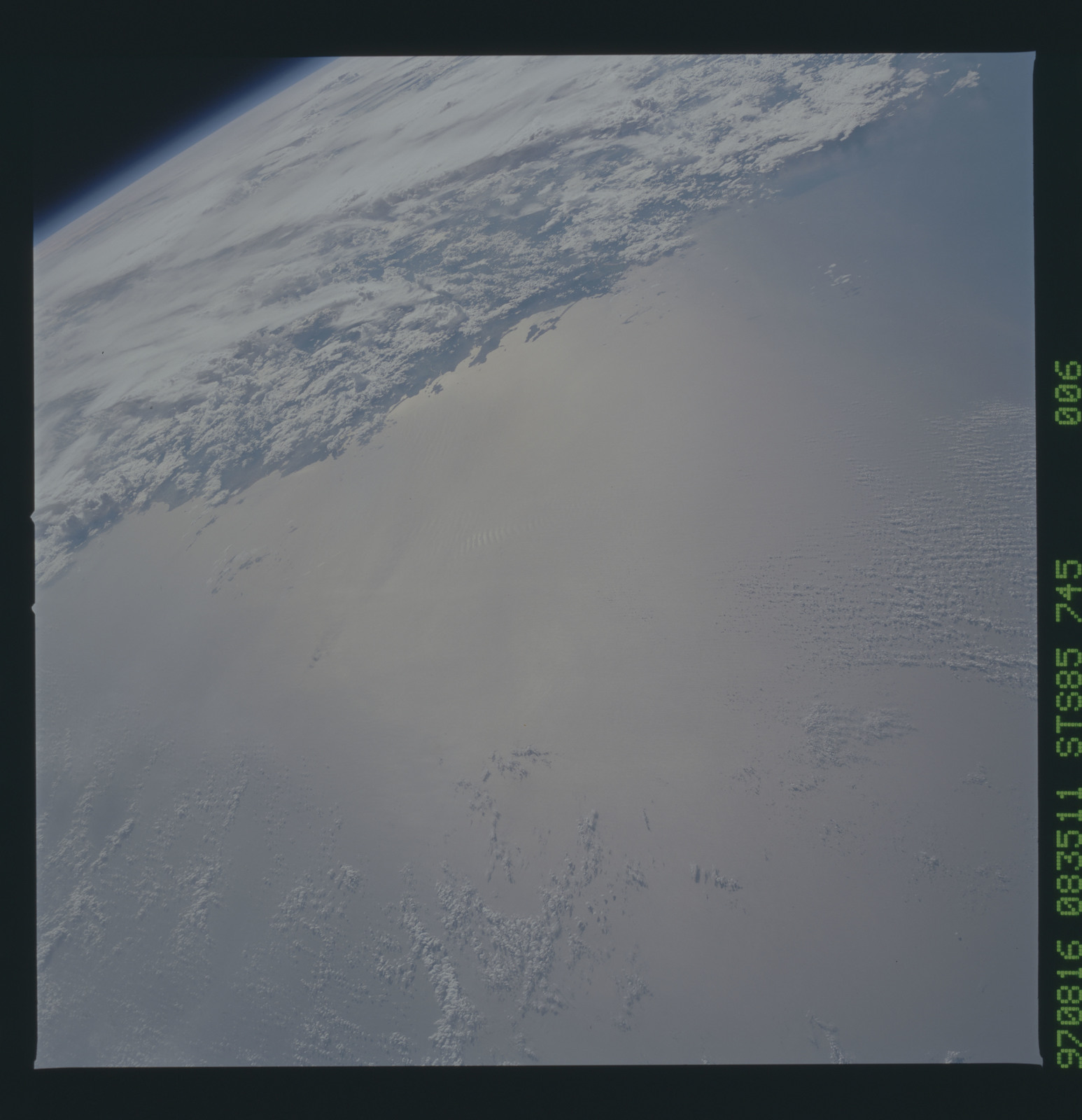 STS085-745-006 - STS-085 - Earth observations taken from orbiter Discovery during STS-85 mission