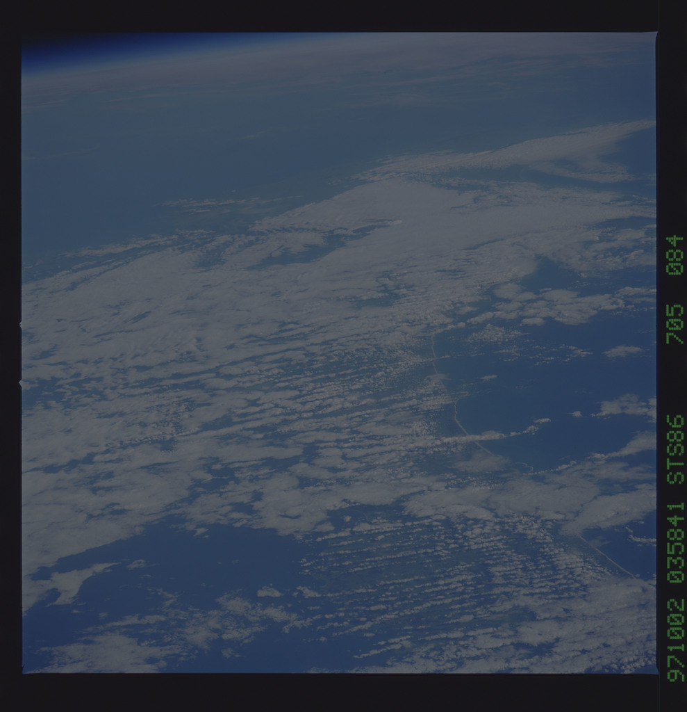 STS086-705-084 - STS-086 - Earth observations taken during STS-86