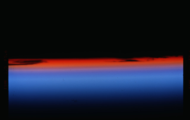STS088-301-001 - STS-088 - Sunrise as seen during STS-88 mission