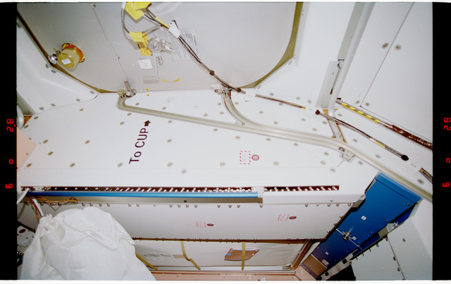 STS088-328-007 - STS-088 - View of the interior of the Node 1/Unity module