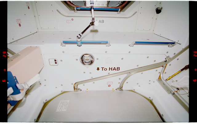 STS088-328-012 - STS-088 - View of the interior of the Node 1/Unity module